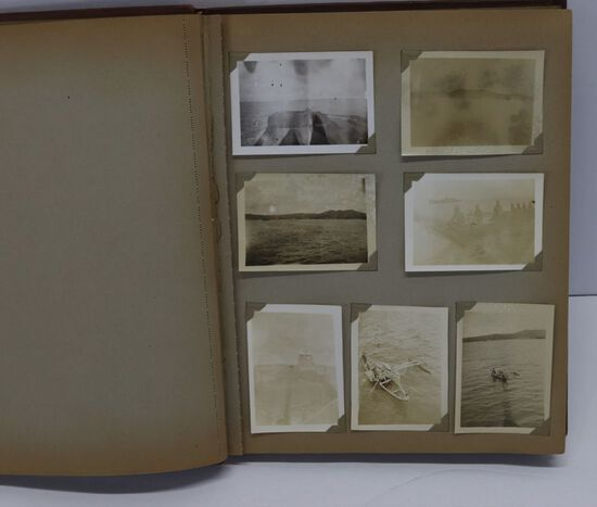 WWII USN Sailor's Photo Album