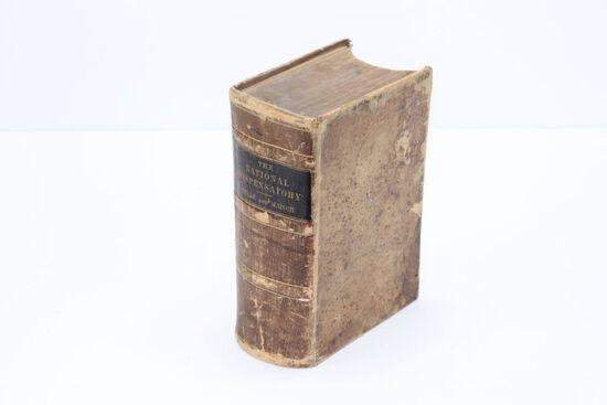 Rare 1880 'The Natural Dispensatory Book'
