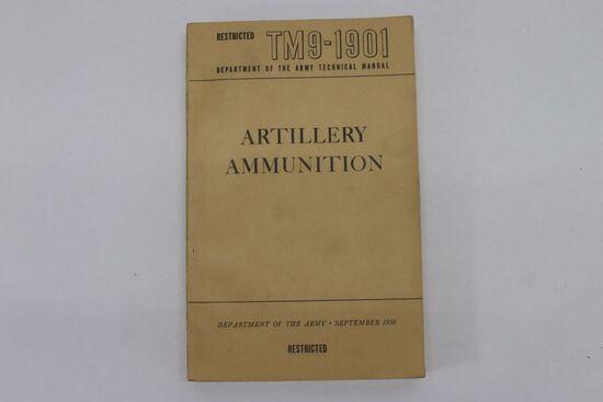 Korean War US Army Artillery Tech Manual