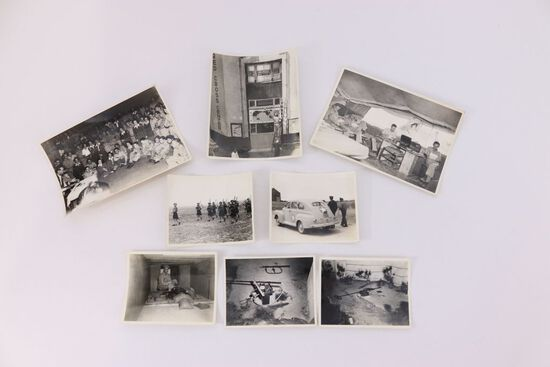 Lot of WWII US Military Press Photos