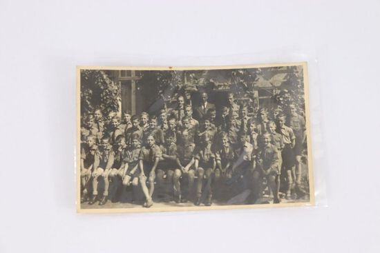 Nazi Hitler Youth Group RPPC/Postcard