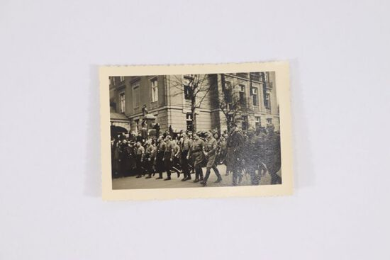 Small Photo of Hitler Marching in Parade