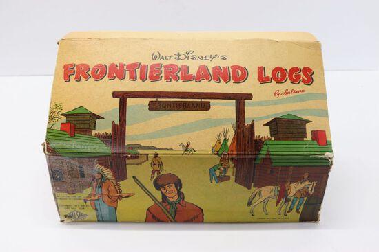 Walt Disney's Frontierland Toy Logs Set