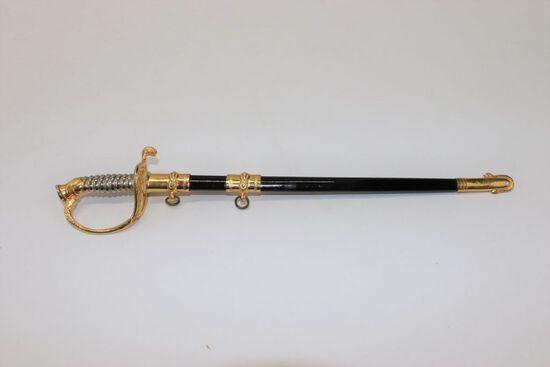 Vintage USN Sword Letter Opener