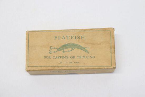 Antique Flatfish Lures in Original Box