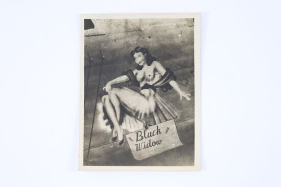 Original WWII Pin-up Nose Art Photo
