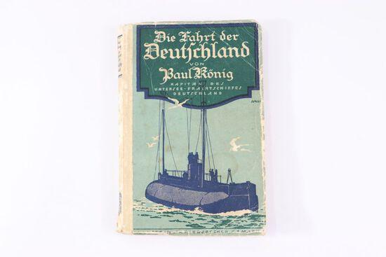 """""""Die Fahrt der Deutschland"""" SC Book"""