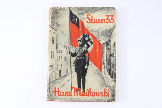 "Rare! 1934 SA Hardcover Book ""Sturm 33"""
