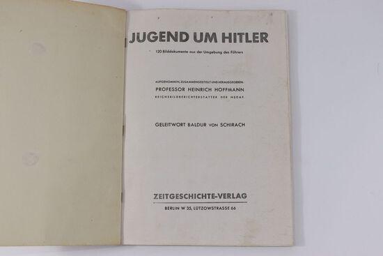 Jugend und Hitler Nazi Photo Book