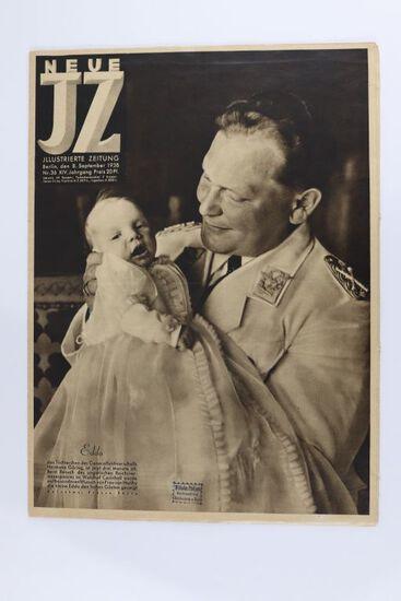 1938 Nazi Neue JZ Magazine-Goring Cover
