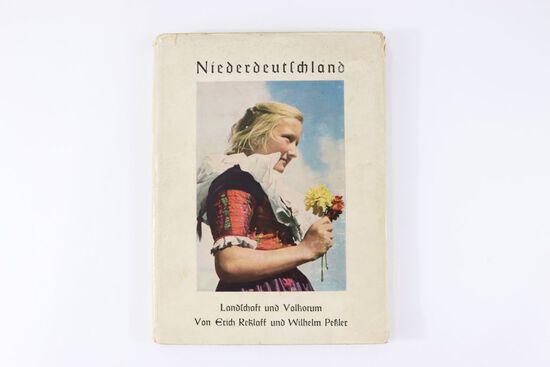 """1940 """"Niederdeutschland"""" Hardcover Book"""