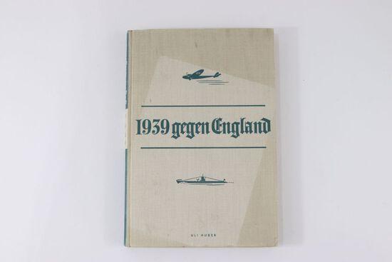 """""""1939 Gegen England"""" Nazi Book"""