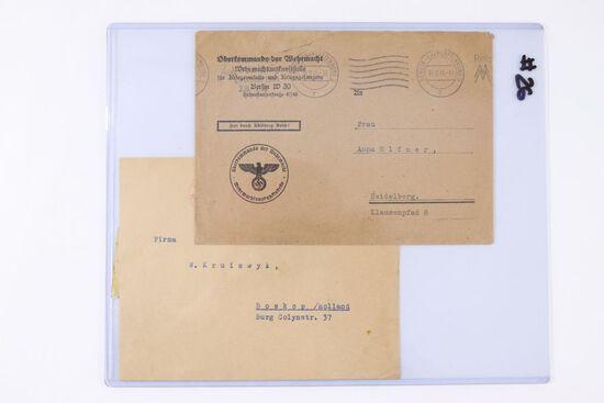Oberkommando der Wehrmacht Postal Lot