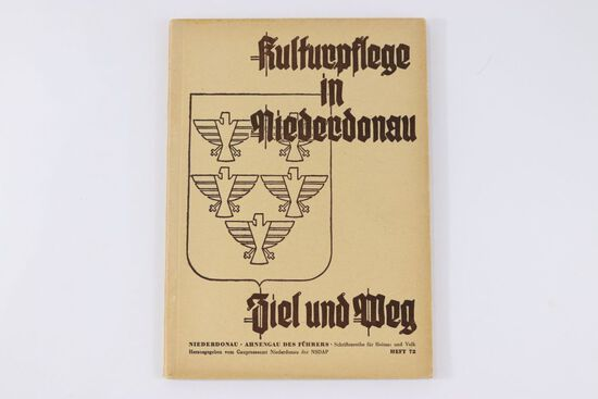 """Nazi """"Kulturpflege in Niederdonau"""" Book"""