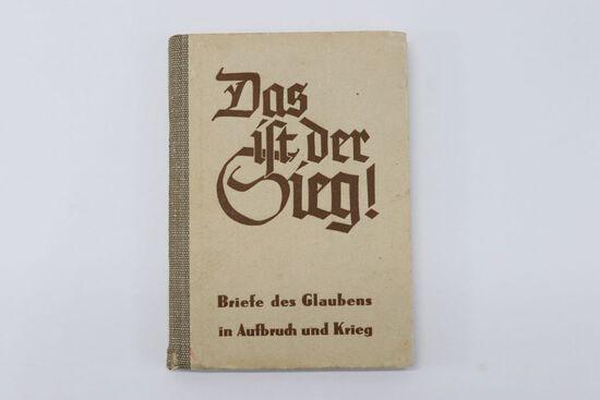 """1941 Nazi """"Das ist der Sieg"""" HC Book"""