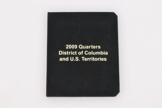 2009-D 6-pc DC & US Territories Quarter Set