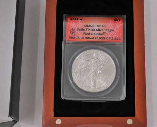 2011 Silver Eagle First Release ANAS - SP70