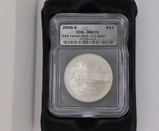 2006-S San Francisco Old Mint $1 Coin
