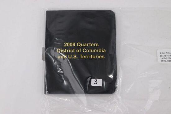 2009-P DC & US Territories Quarter Set