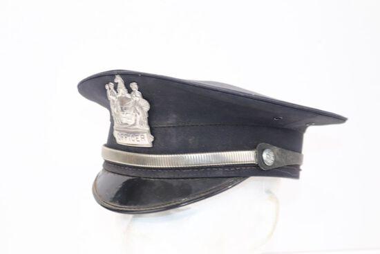 1960's Police Officer's Cap
