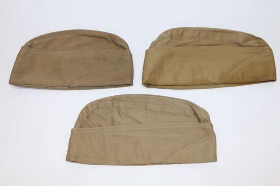 WWII USMC Garrison Caps