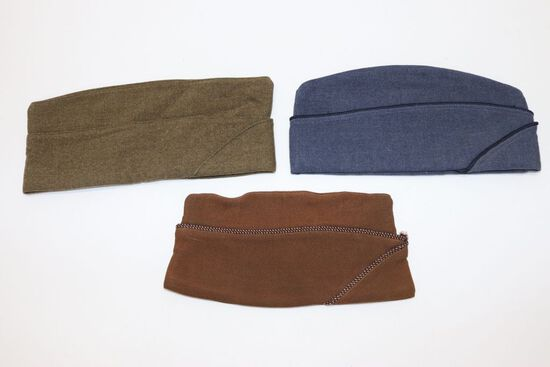(3) Garrison Caps