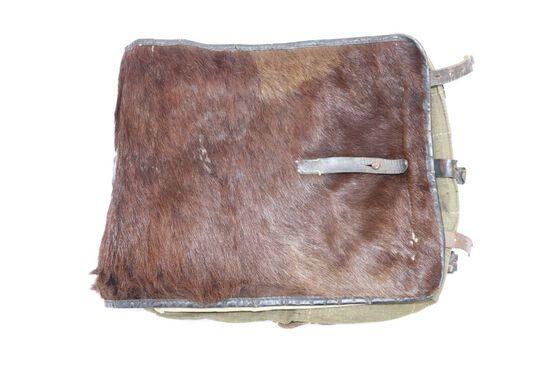 WWII German Pony Fur Backpack