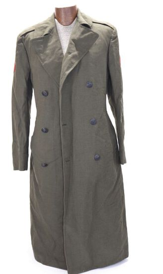 Marine Winter Wool Coat - Size 36L