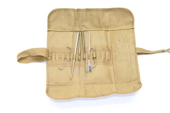 WWII Field Dressing Medical Kit