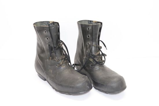 """WWII """"Mickey"""" Bomber Boots - Size 12"""