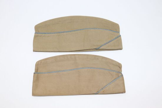 Pair of WWII Infantry Garrison Caps