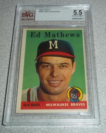1958 Topps Baseball Card 440 Auctions Online Proxibid