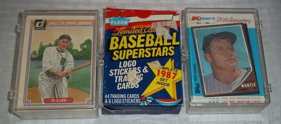 3 Small Baseball Card Sets 1 Auctions Online Proxibid