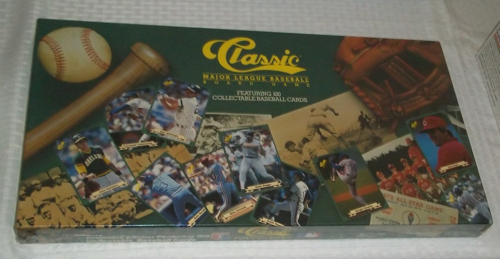 Lot Rare 1st Year 1987 Classic Baseball Sealed Game W Cards Gem
