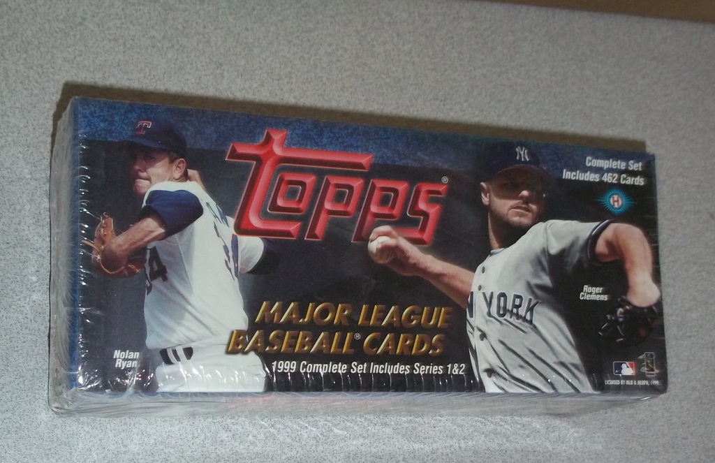 Lot 1999 Topps Baseball Card Factory Sealed Set Rookies