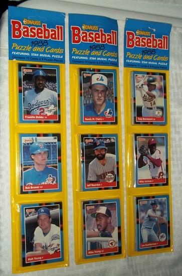 Three 1988 Donruss Baseball Ra Auctions Online Proxibid