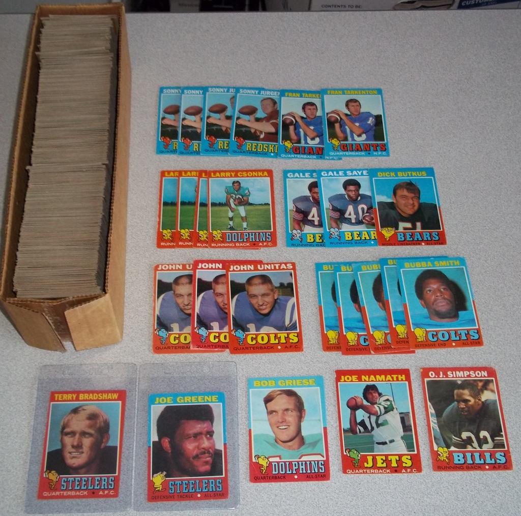 Vintage Sports Cards Memorabilia Old Collectibles