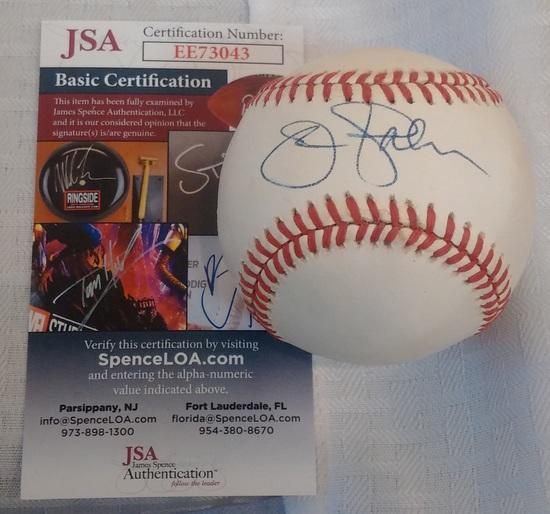 Jim Palmer Autographed Signed ROMLB Baseball Orioles HOF JSA COA