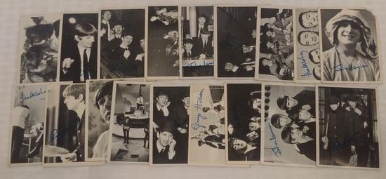Vintage 1964 Topps Beatles Series 2 Card Lot 18 Cards Starter Set All Different 18/55