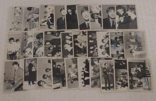Vintage 1964 Topps Beatles Series 3 Card Lot 29 Cards Starter Set All Different 29/50