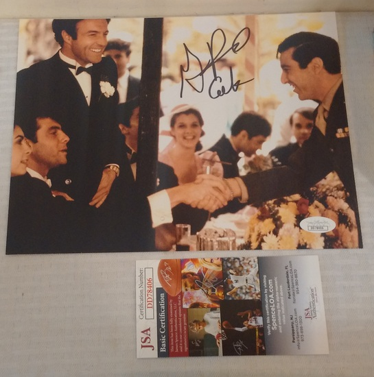 Gianni Russo Autographed Signed 8x10 Photo Godfather Movie Actor JSA COA Inscription
