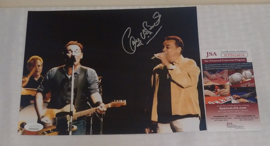 Gary U.S. Bonds Autographed Signed 8x10 Photo JSA COA Musician Bruce Springsteen ghary