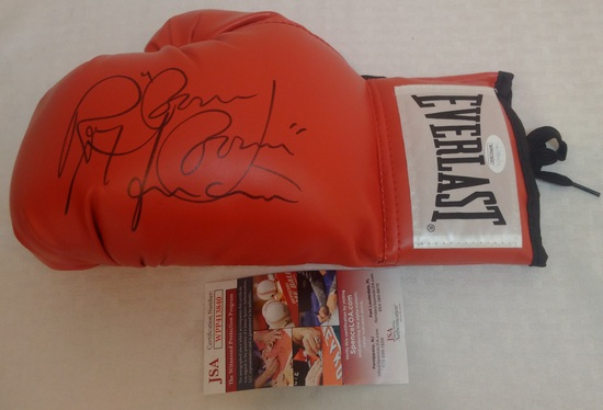 Ray Boom Boom Mancini Autographed Signed Everlast Boxing Glove JSA COA
