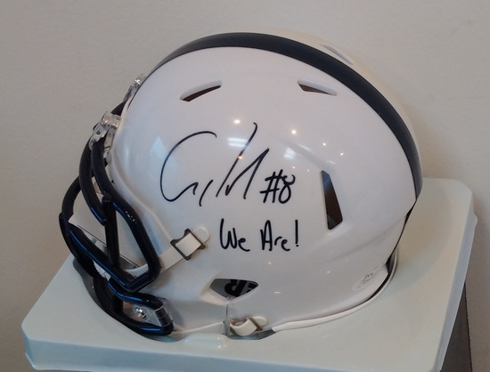 Allen Robinson Autographed Signed Penn State Football Mini Helmet PSU JSA COA Sticker We Are