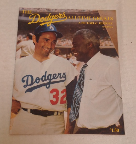 The Dodgers All Time Greats Pictorial History Koufax 1890-1970s