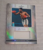2011 Leaf Muhammad Ali Authentic Event Worn Used Swatch 59/70 Boxer Boxing