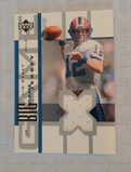 2002 Upper Deck NFL Football Big Game Jerseys Jim Kelly Bills HOF GU Relic Card