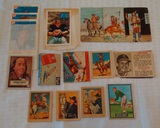 Vintage Sports & Non Sports Card Lot Kellogg's NFL Musial Oddball Indians Airplane Benjamin Franklin