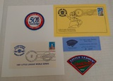 LLWS Little League World Series Lot Patches Tickets
