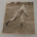 Vintage Original 1935 Press Wire Photo Jack Wilson Baseball Rex Sox MLB